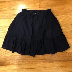 Navy blue skirt by Crewcuts, size 10
